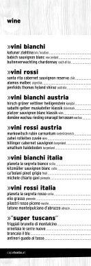 restaurant »drinks - CapaTosta - Page 6