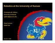Christopher M. Gifford - The University of Kansas