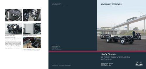 Lion's Chassis (de) (1 MB PDF) - MAN Truck & Bus Schweiz AG