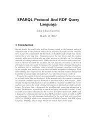 SPARQL Protocol And RDF Query Language