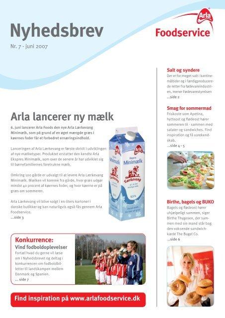 Variation i hverdagen - Arla Foodservice