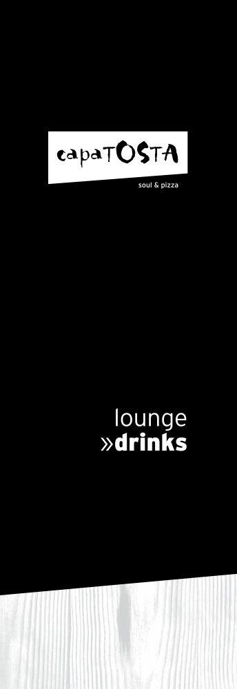 Drinks Lounge (PDF-Format) - CapaTosta