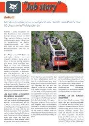 Download ausführlichen Artikel - Bobcat Bensheim GmbH & Co. KG