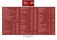 Aktuelle Speise- und Getränkeangebote - HOTEL - RESTAURANT ...