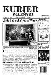 """""""Unia Lubelska"""" już w Wilnie"""