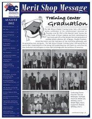 August 2012 Newsletter - ABC