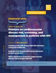 Pointers on cardiovascular disease risk, screening, and ...
