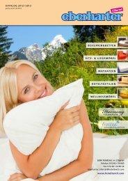 Katalog 2012 / 2013 - Betten Eberharter