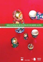 Bibliothèques municipales en Rhône-Alpes - Arald