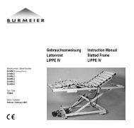 Gebrauchsanweisung Lattenrost LIPPE IV - Sanitätshaus Hofmann ...