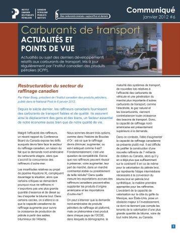 version PDF - Canadian Fuels Association