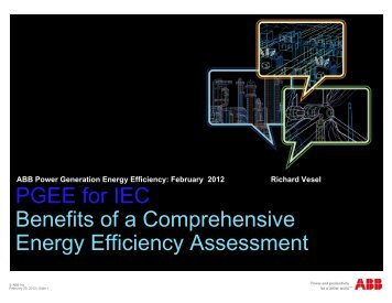 Power Generation Energy Efficiency