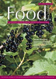 FEATURED IN THIS ISSUE: Functional foods and ingredients ...