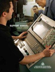 Rapport annuel 2005-2006 - Clicemplois.net