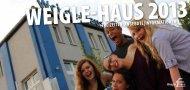 finden sie das Freizeitprospekt 2013 - Weigle-Haus
