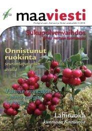 3/2010 - ProAgria Oulu