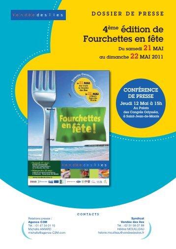 Dossier de Presse Fourchettes en Fête 2011 - Agence C3M