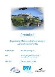 Protokoll - TSV 1850 Lindau Schwimmen