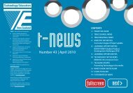 t-news Number 43, April 2010 - NZIFST - The New Zealand Institute ...