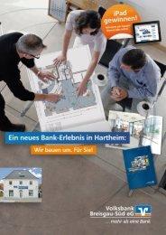 Flyer zum Umbau - Volksbank Breisgau-Süd eG