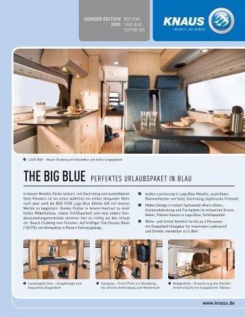 the big blue perfektes urlaubspaket in blau - Camping-Center Klein ...