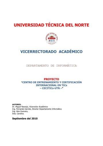 UNIVERSIDAD TÉCNICA DEL NORTE - Repositorio UTN ...
