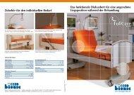 Das funktionale Dialysebett für eine angenehme Liegeposition ...