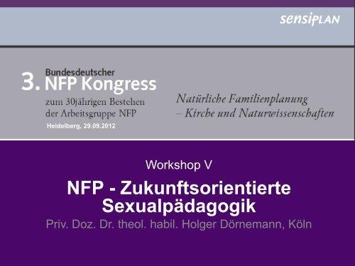 NFP - Zukunftsorientierte Sexualpädagogik