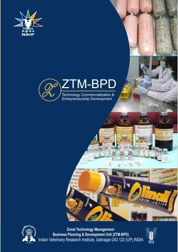 ZTM-BPD Brochure - Indian Veterinary Research Institute