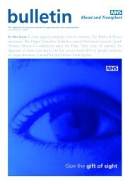 Issue 68 Winter 2008 - Organ Donation