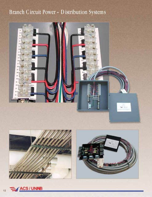 Branch Circuit Power - Distribution Systems - AFC Cable Systems, Inc.