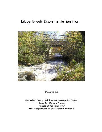 LB Implementation Plan - Cumberland County Soil & Water ...