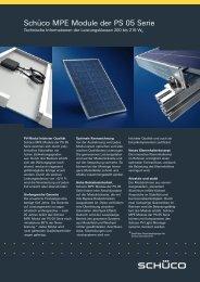 Datenblatt MPE Module der PS 05 Serie – 190 ... - Innotec Energies