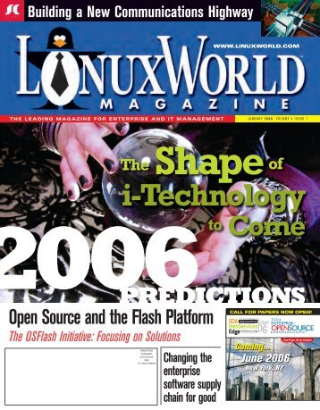 issue 1 - sys-con.com's archive of magazines - SYS-CON Media