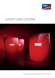 Sunny Mini Central 6000TL-11000TL