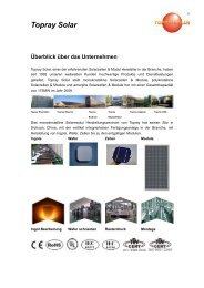 Topray Solar - Innotec Energies
