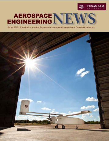 Spring 2013 - Aerospace Engineering - Texas A&M University