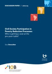 Civil Society Participation in Poverty Reduction Processes: Who is ...