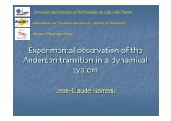 Experimental observation of the Anderson transition in a dynamical ...