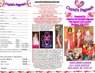 RED DEER LODGE - Miss All Canadian Pageants
