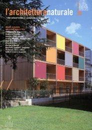 L'architettura naturale n. 26 - Ricerca e Progetto