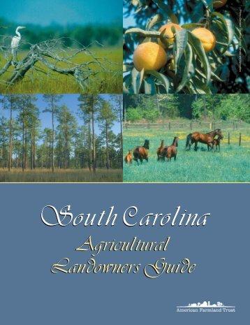 Agricultural Landowners Guide Agricultural Landowners Guide