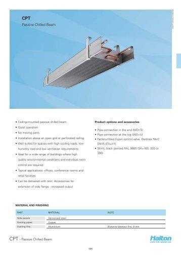 Halton Chilled Beam Design Guide