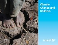 'Climate Change and Children' [PDF] - Unicef