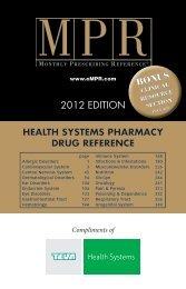 2012 EDITION - Teva Pharmaceuticals