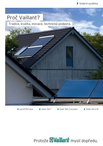 Solar set Vaillant 2011 - Inergy sro