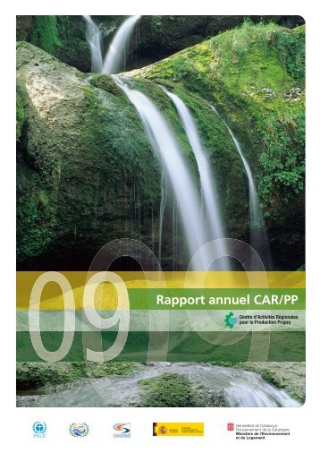 Rapport annuel CAR/PP - Regional Activity Centre for Cleaner ...