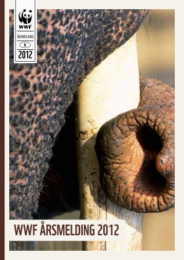 WWF ÅRSMELDING 2012