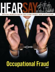 Mar '12 - inside pages - Clark County Bar Association