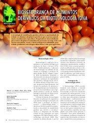 A tecnologia de modificação genética oferece a ... - Biotecnologia